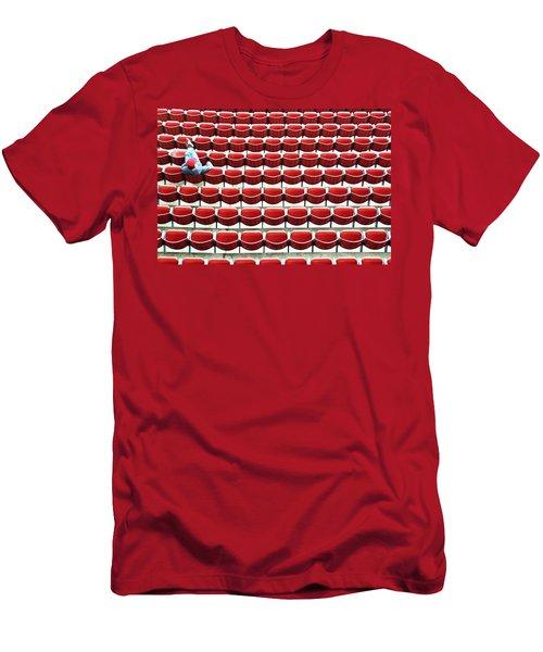 The Lone Fan Men's T-Shirt (Slim Fit) by Allen Beatty