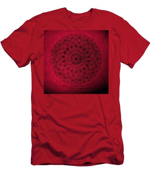 Wave Particle Duality Men's T-Shirt (Athletic Fit)