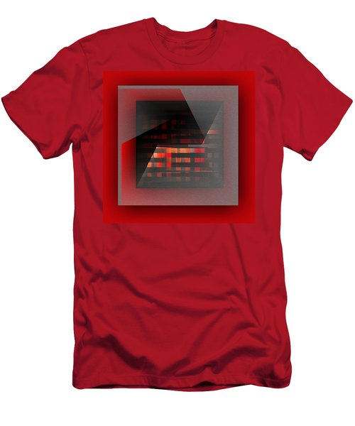 Men's T-Shirt (Athletic Fit) featuring the digital art Color Recycling by Mihaela Stancu