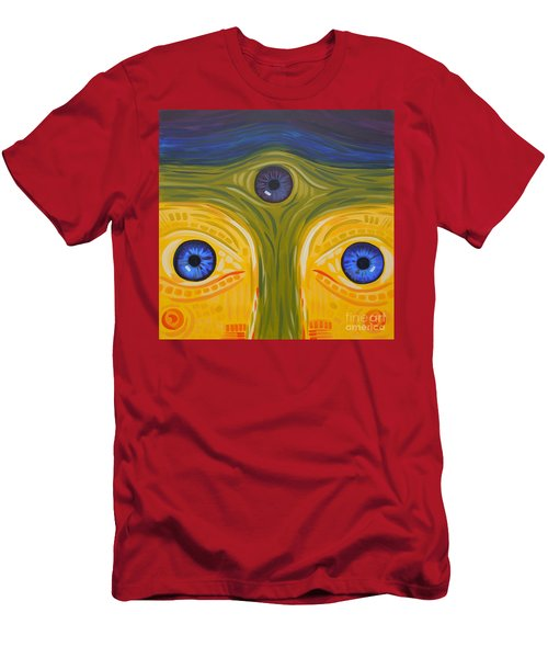 3eyes2c Men's T-Shirt (Athletic Fit)