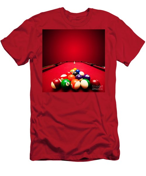 Billards Pool Game Men's T-Shirt (Athletic Fit)
