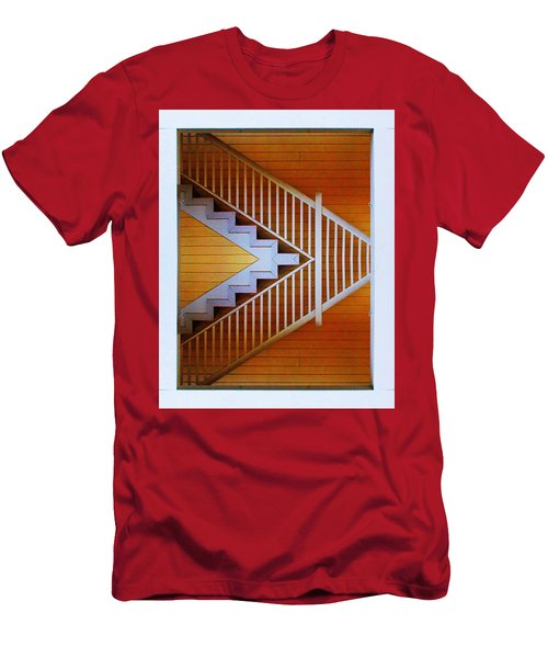 Distorted Stairs Men's T-Shirt (Athletic Fit)