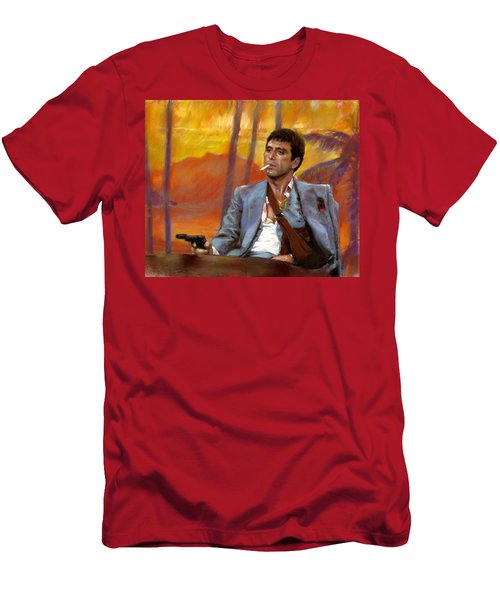 Scarface Men's T-Shirt (Athletic Fit)