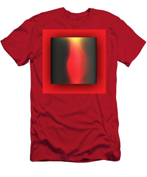 Men's T-Shirt (Athletic Fit) featuring the digital art Contemporary by Mihaela Stancu