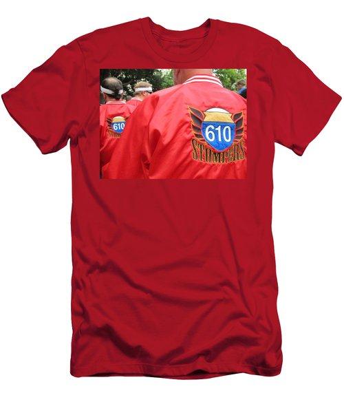 610 Stompers - New Orleans La Men's T-Shirt (Athletic Fit)