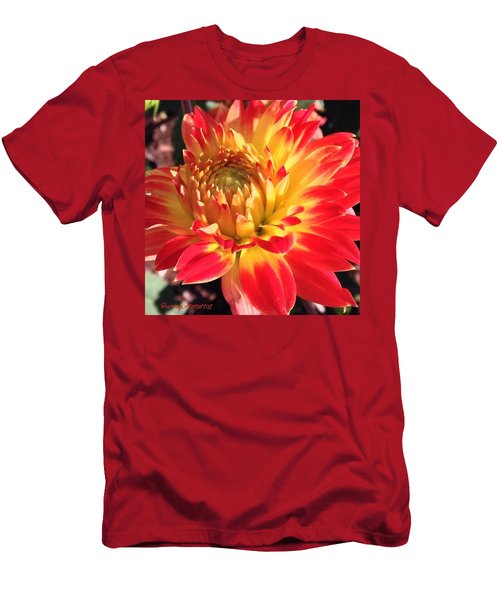 A Burst Of Fall Color Men's T-Shirt (Athletic Fit)