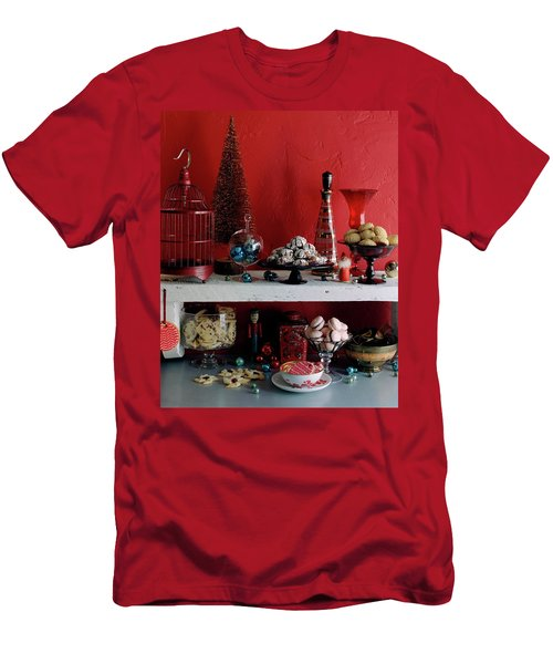 A Christmas Display Men's T-Shirt (Athletic Fit)