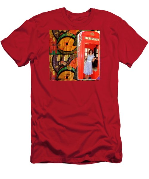 A Classic Chrissy Moment Men's T-Shirt (Slim Fit) by Anna Porter