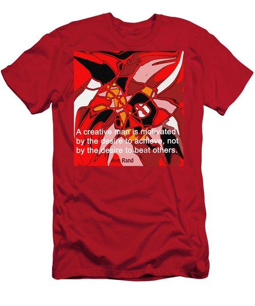 A Creative Man Men's T-Shirt (Slim Fit) by Ian  MacDonald