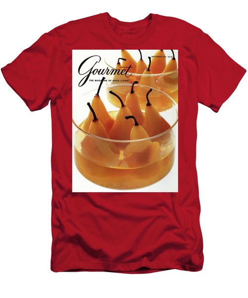 A Gourmet Cover Of Baked Pears Men's T-Shirt (Athletic Fit)