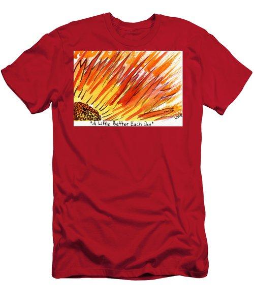 A Little Better Each Day  Men's T-Shirt (Athletic Fit)