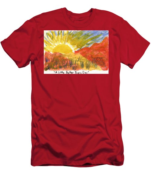 A Little Better Every Day Men's T-Shirt (Athletic Fit)