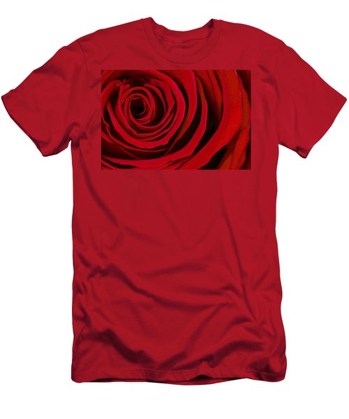 A Rose For Valentine's Day Men's T-Shirt (Athletic Fit)