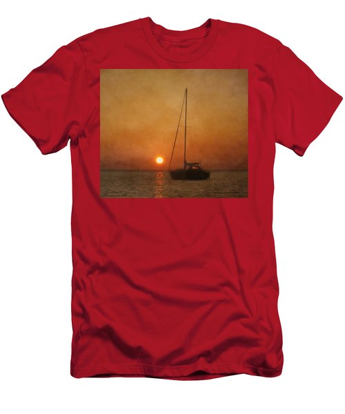 A Ship In The Night Men's T-Shirt (Athletic Fit)