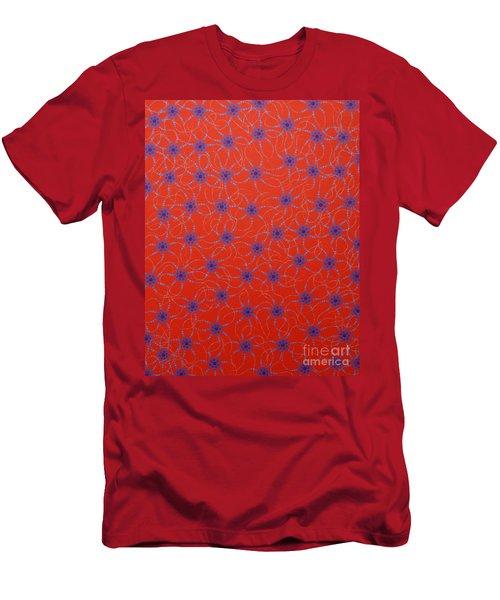 Aboriginal Inspirations Collection 3 Men's T-Shirt (Slim Fit) by Mariusz Czajkowski