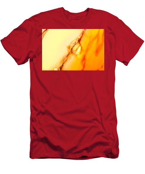 Abstract Colors. Men's T-Shirt (Athletic Fit)