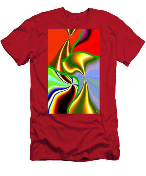 Abstract Fusion 200 Men's T-Shirt (Athletic Fit)