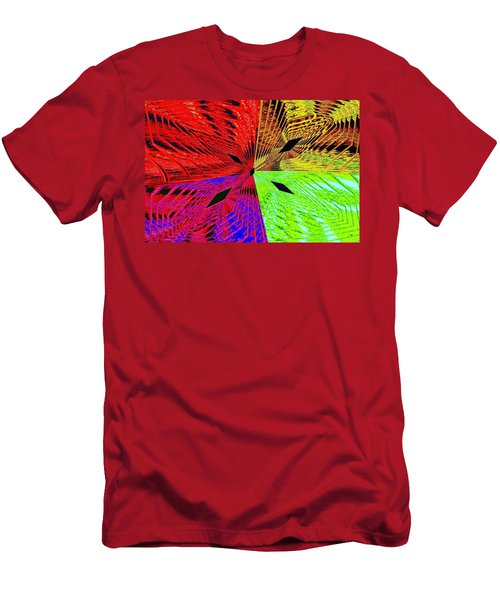 Abstract Fusion 222 Men's T-Shirt (Athletic Fit)