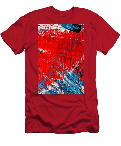 Abstract Original Artwork One Hundred Phoenixes Untitled Number Five Men's T-Shirt (Athletic Fit)