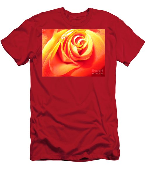 Abstract Rose 2 Men's T-Shirt (Athletic Fit)