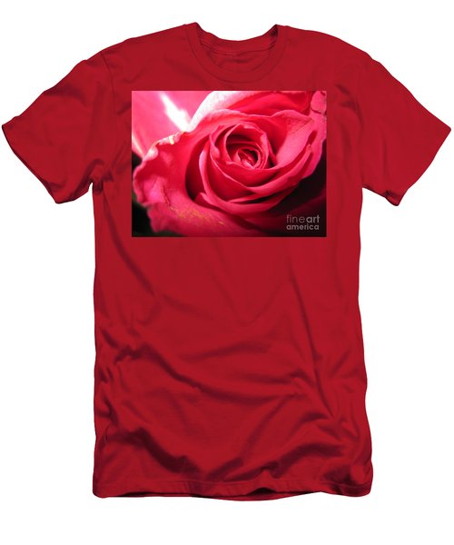Abstract Rose 4 Men's T-Shirt (Athletic Fit)
