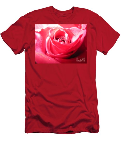 Abstract Rose 5 Men's T-Shirt (Athletic Fit)