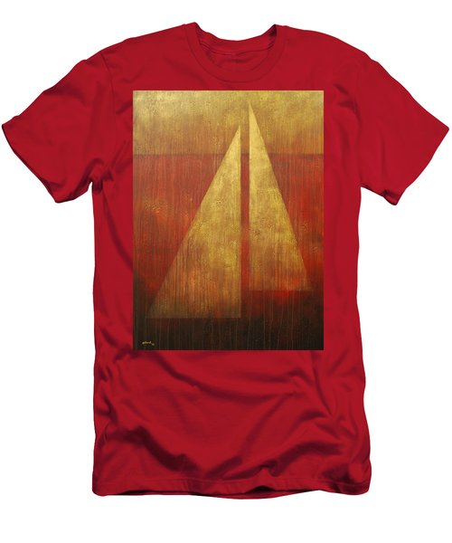 Abstract Sail Men's T-Shirt (Athletic Fit)