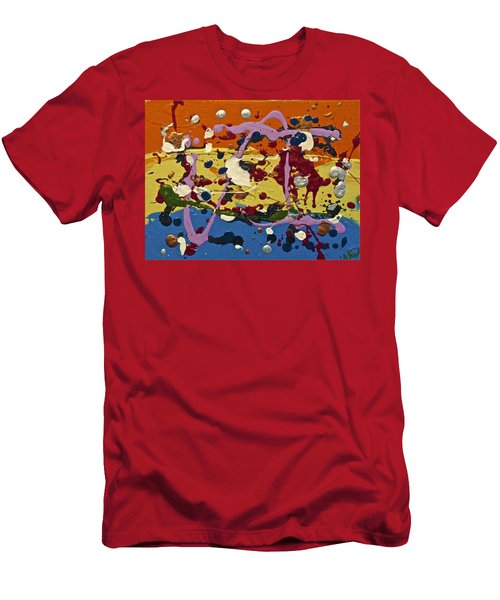 Abstracts 14 - The Circus Men's T-Shirt (Athletic Fit)