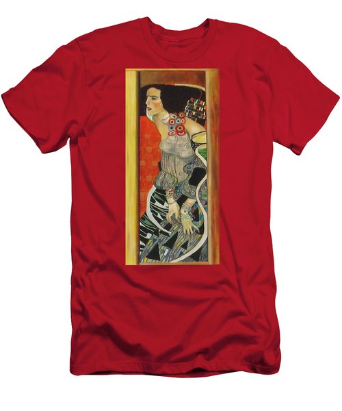 After Gustav Klimt Men's T-Shirt (Athletic Fit)