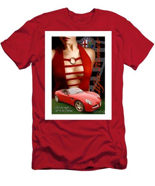 Alfa Romeo Dress Men's T-Shirt (Athletic Fit)