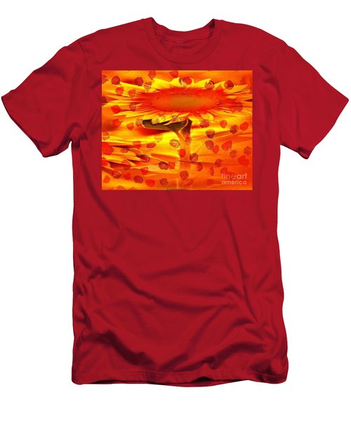 Always Turn Your Head Towards The Sun Men's T-Shirt (Athletic Fit)