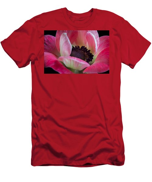 Anemone In Fuchsia Men's T-Shirt (Athletic Fit)