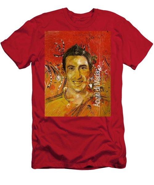 Angel Di Maria Men's T-Shirt (Athletic Fit)