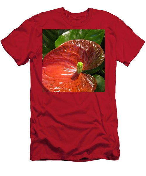 Anthurium Men's T-Shirt (Athletic Fit)