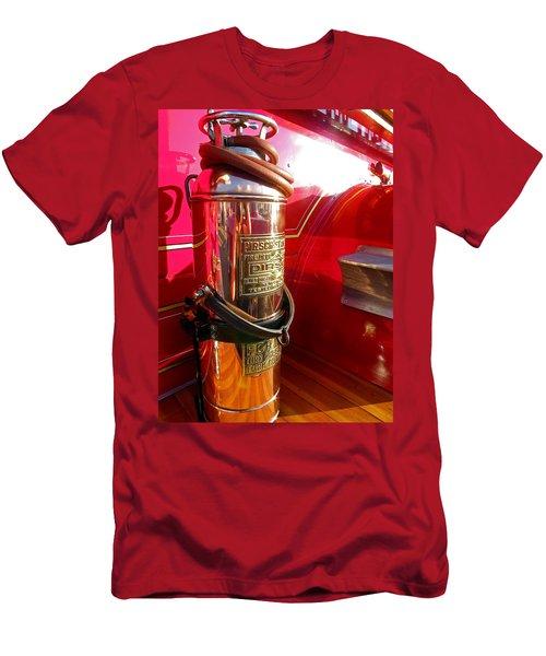 Antique Fire Extinguisher Men's T-Shirt (Athletic Fit)