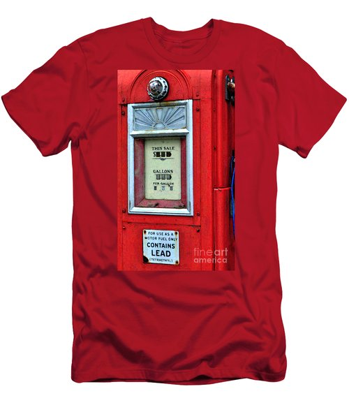 Antique Gas Pump Men's T-Shirt (Athletic Fit)