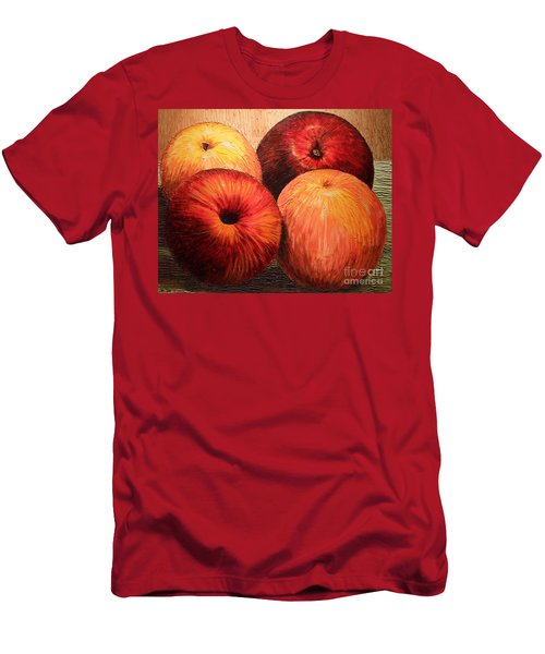 Apples And Oranges Men's T-Shirt (Athletic Fit)