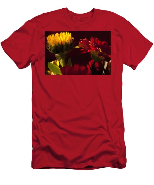 Asters In The Light Men's T-Shirt (Athletic Fit)
