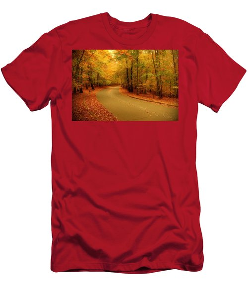 Autumn Serenity - Holmdel Park  Men's T-Shirt (Athletic Fit)