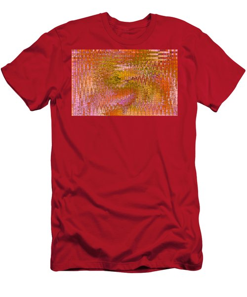 Men's T-Shirt (Slim Fit) featuring the digital art Autumn by Stephanie Grant