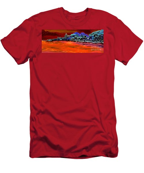 Away From Home Men's T-Shirt (Slim Fit) by Loredana Messina