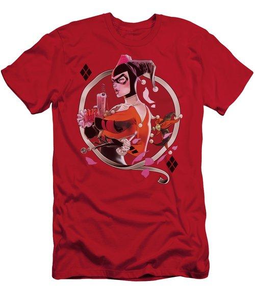 Batman - Harley Q Men's T-Shirt (Athletic Fit)