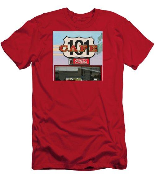 Beach Cafe Men's T-Shirt (Athletic Fit)
