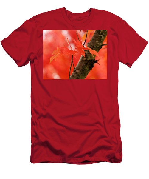 Beauty Of Red Men's T-Shirt (Athletic Fit)