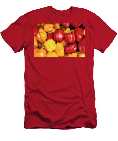 Bell Peppers Men's T-Shirt (Athletic Fit)