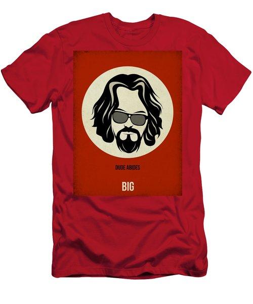 Big Lebowski Poster Men's T-Shirt (Athletic Fit)