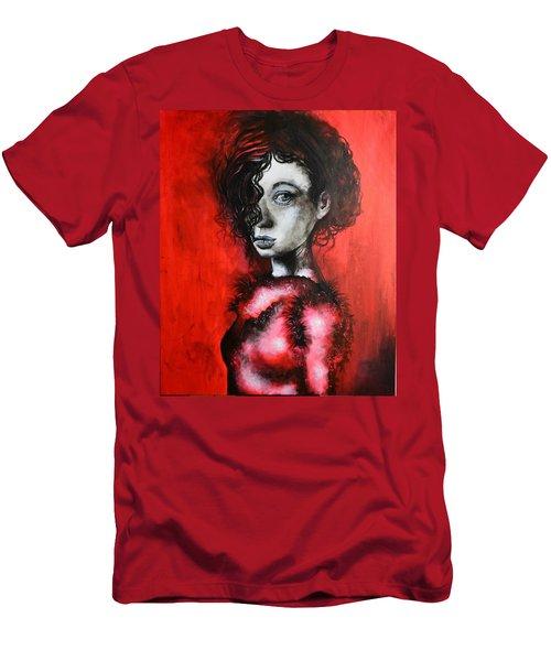 Black Portrait 23 Men's T-Shirt (Athletic Fit)