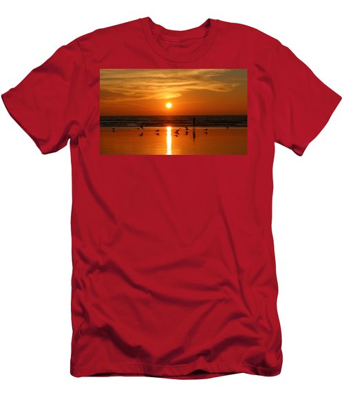 Bliss At Sunset   Men's T-Shirt (Athletic Fit)