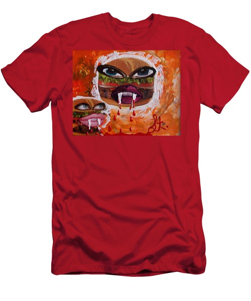 Bloody Meat Men's T-Shirt (Athletic Fit)