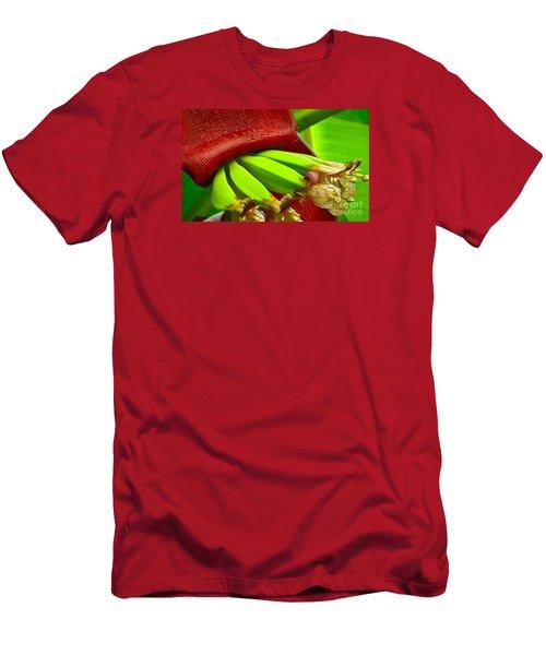 Blooming Bananas Men's T-Shirt (Athletic Fit)